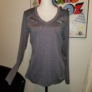 The North Face long sleeve RDT V-neck shirt